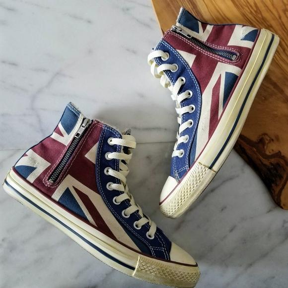 da8867dbfc2d Converse Shoes - CONVERSE Union Jack Brittish Flag High Top Sneaker